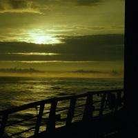 Sunset on Boat