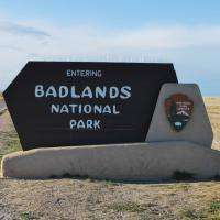 Badlands Sign