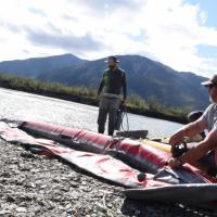 Filling Kayaks